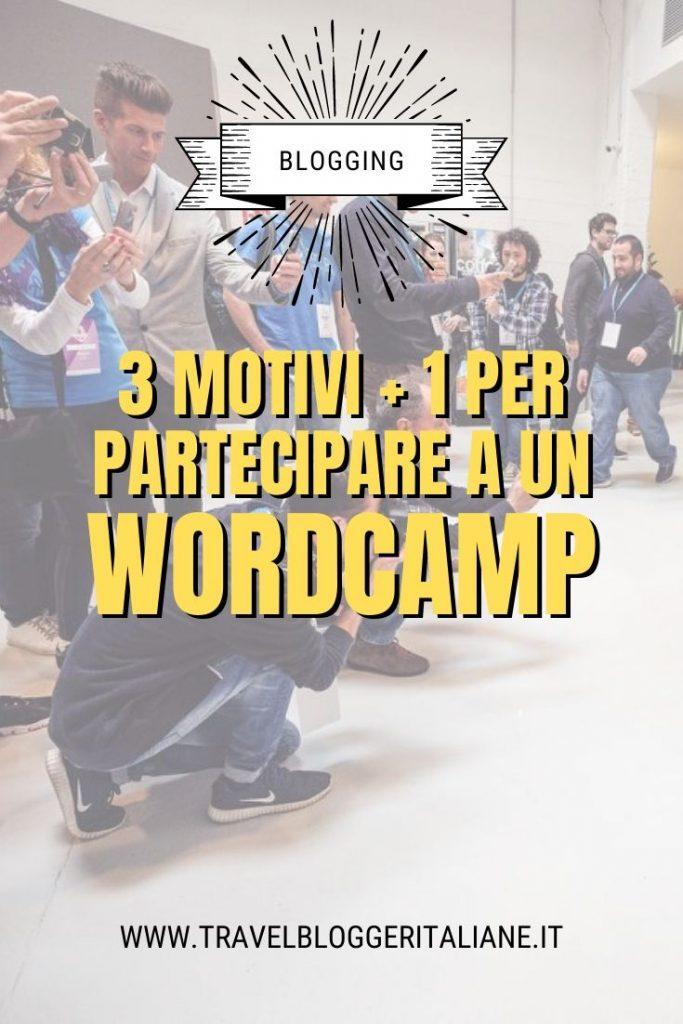 3 motivi + 1 per partecipare a un WordCamp