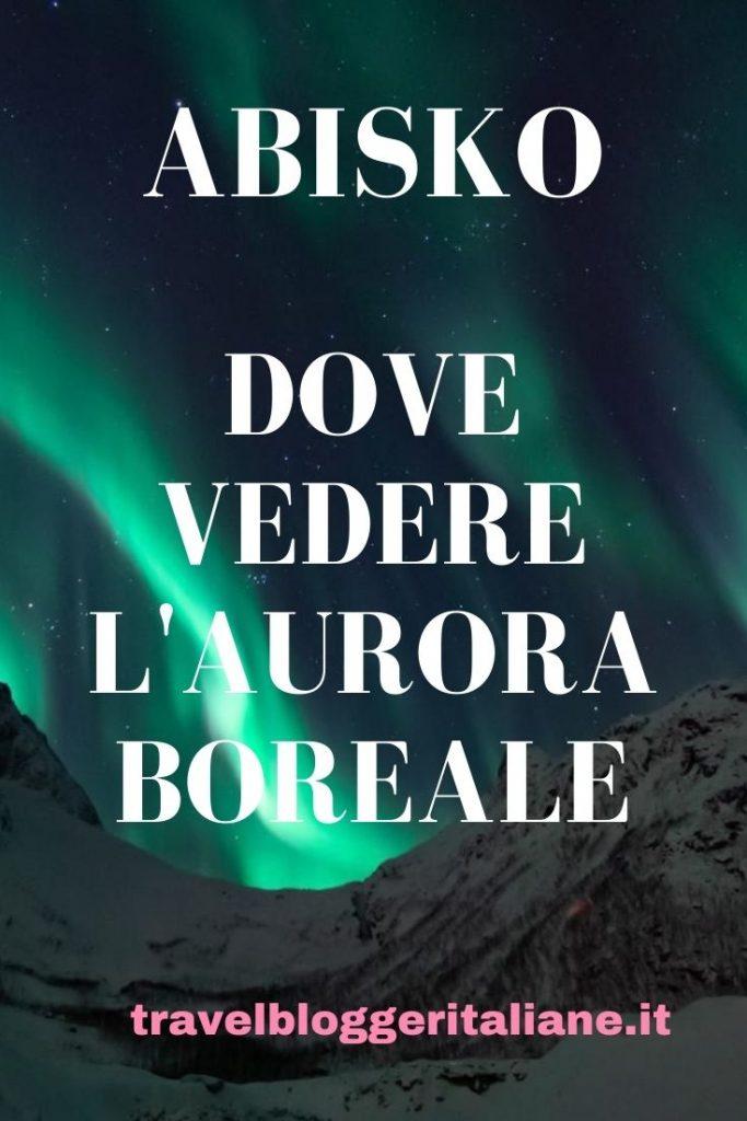 Dove vedere l'aurora boreale in Lapponia