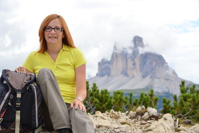 Alessandra Cortese e le montagne