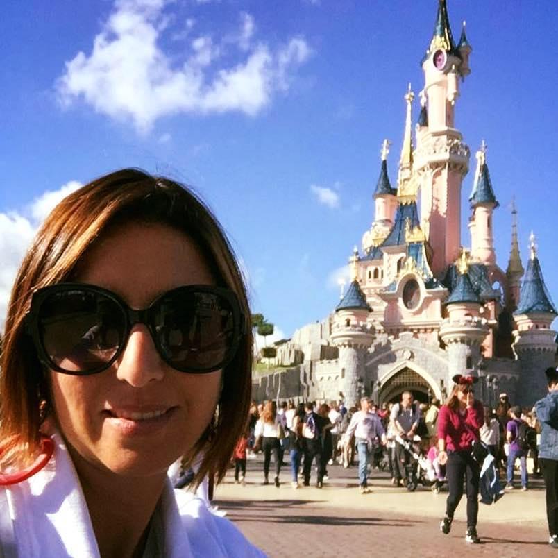 Annalisa a Disneyland