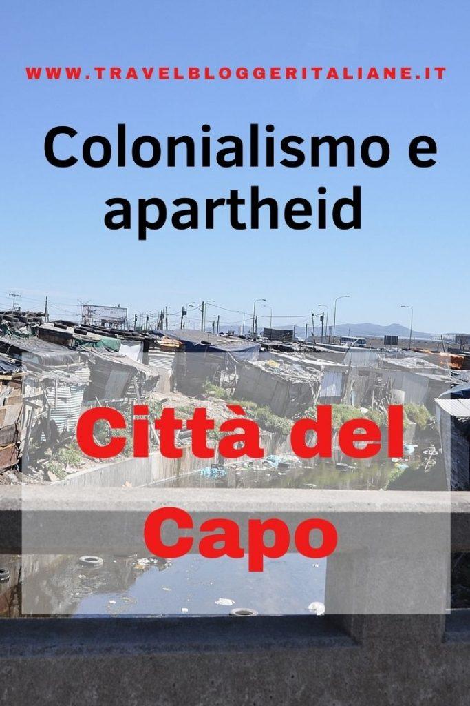 Città del Capo tra colonialismo e apartheid