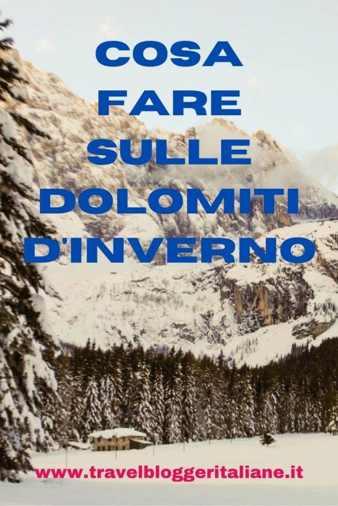 Cosa fare sulle Dolomiti