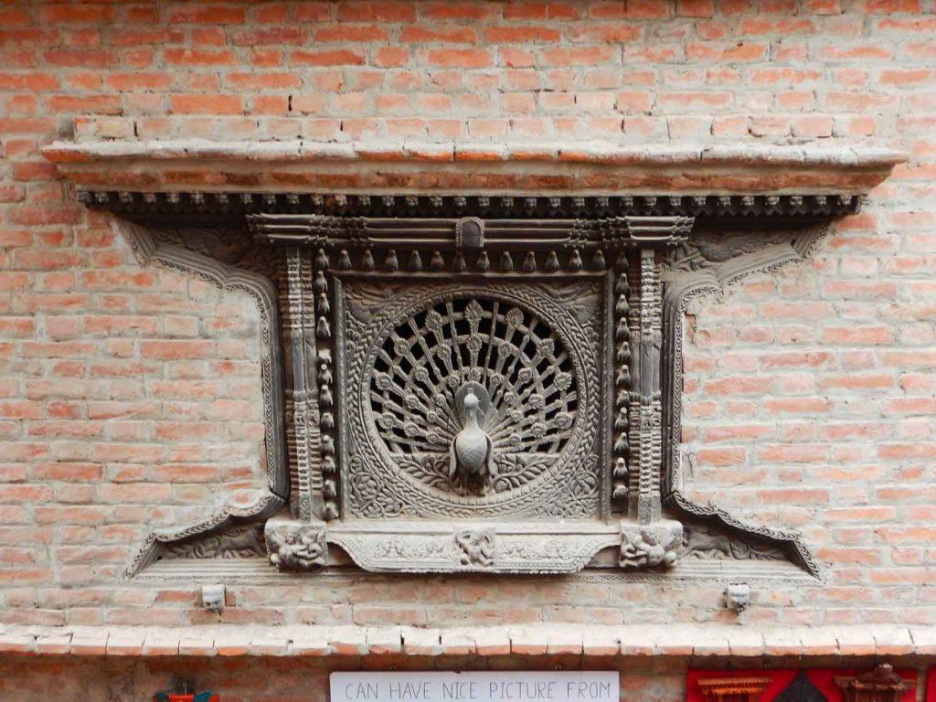 Finestra-del-pavone-Bhaktapur