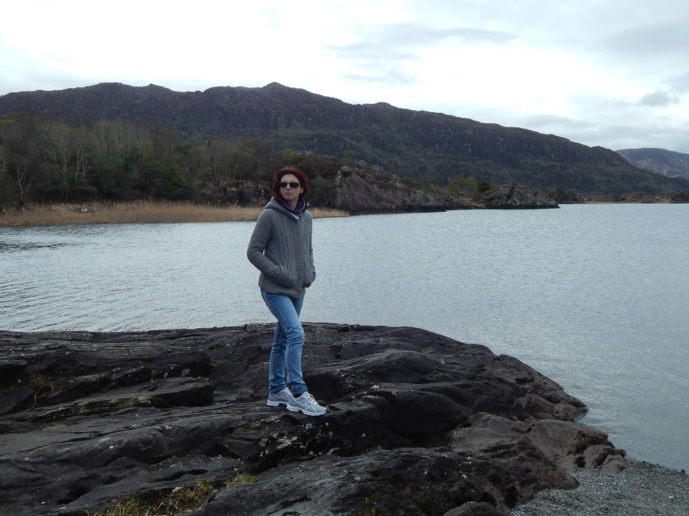 Sabrina Balugani di I viaggi di Ciopilla al Ring of Kerry in Irlanda durante un viaggio on the road