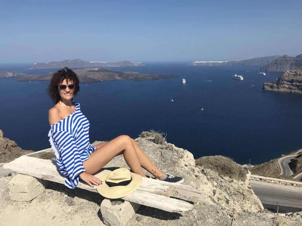 Libera di Liberamente Traveller a Santorini