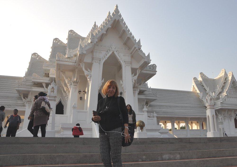 Teresa Torsello di Nonni Avventura a Lumbini in Nepal