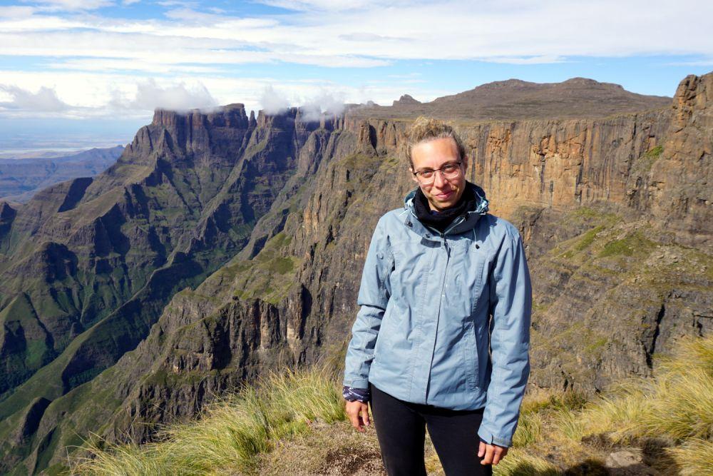 Maria Gubert di Obiettivo Altrove a Drakensberg in Sudafrica