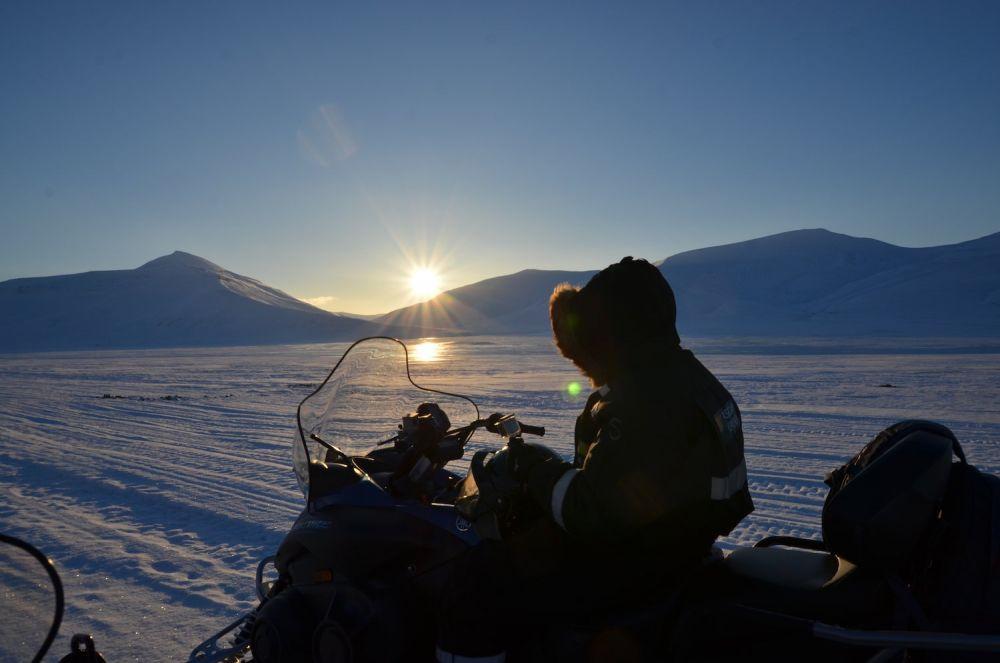 Longyearbyen motoslitta