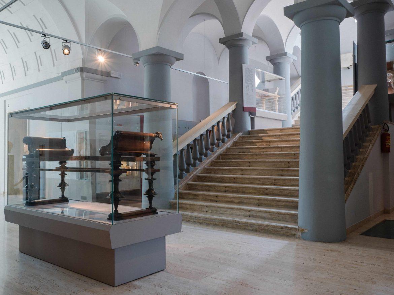 Interno del museo archeologico d'Abruzzo