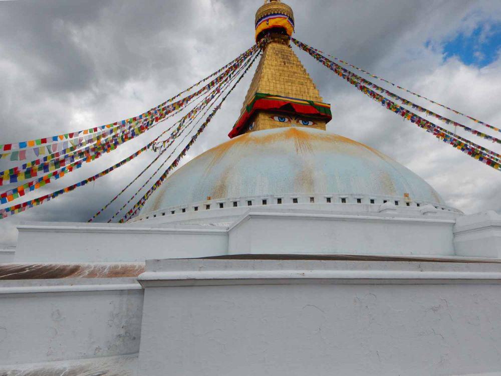 Stupa di Boudhanath a Kathmandu