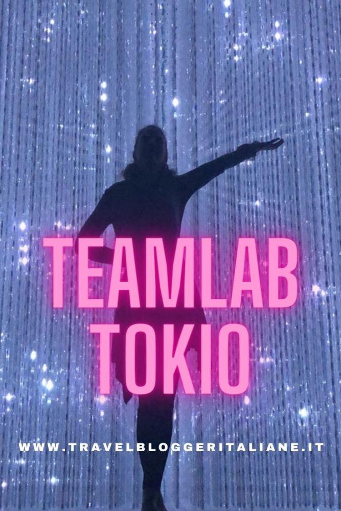 TeamLab Tokyo: un viaggio oltre i confini della realtà