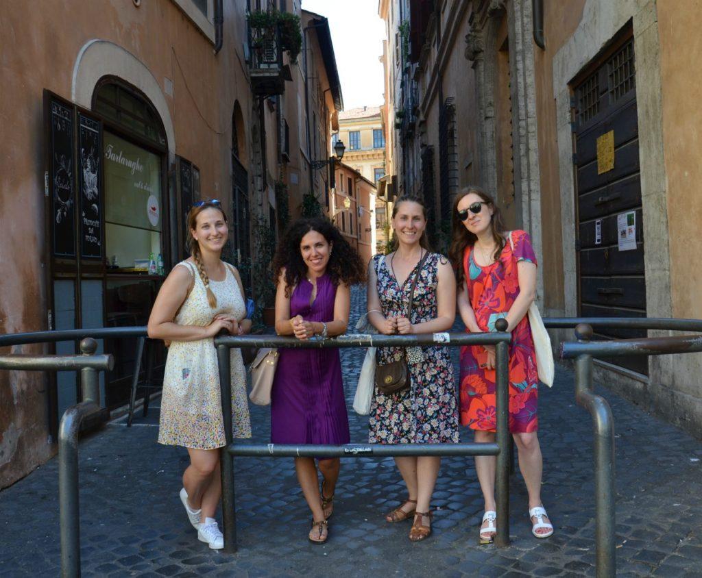 Le Travel Blogger Italiane nel ghetto ebraico