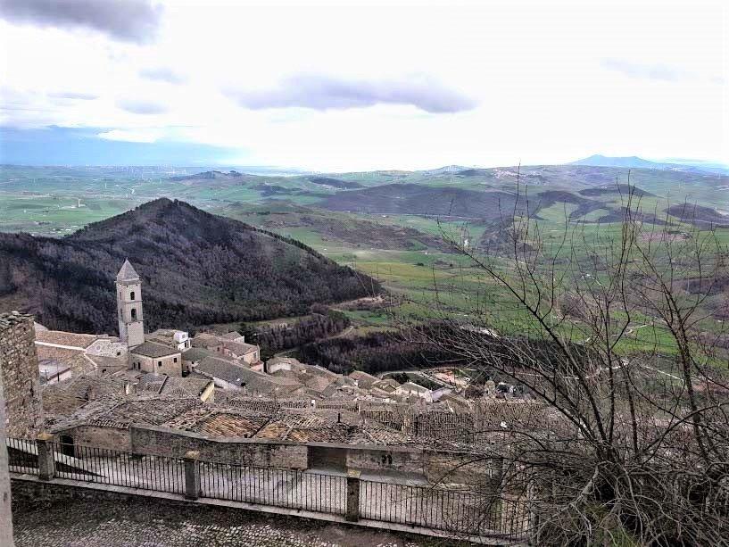 Panorama su Sant'Agata di Puglia