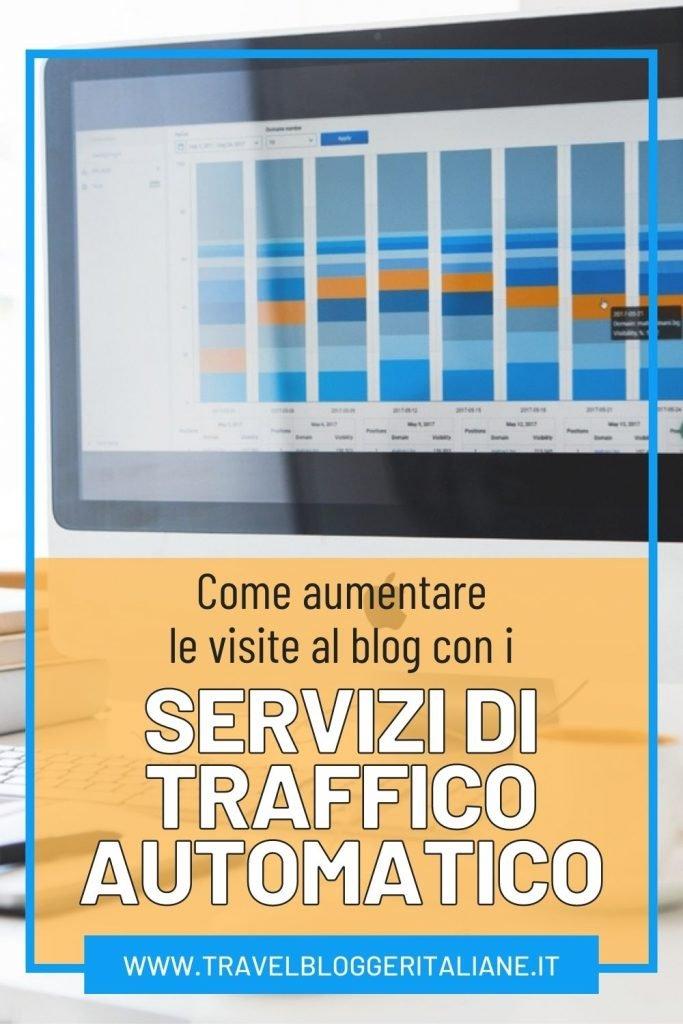 Come aumentare le visite al blog con i servizi di traffico automatico