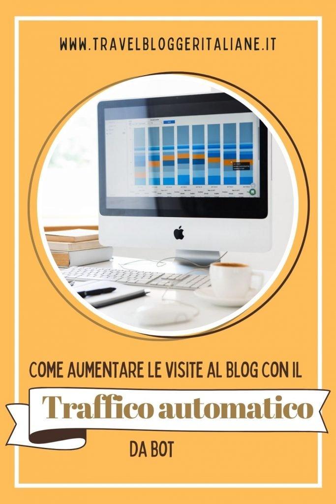 Come aumentare le visite al blog con il traffico automatico da bot