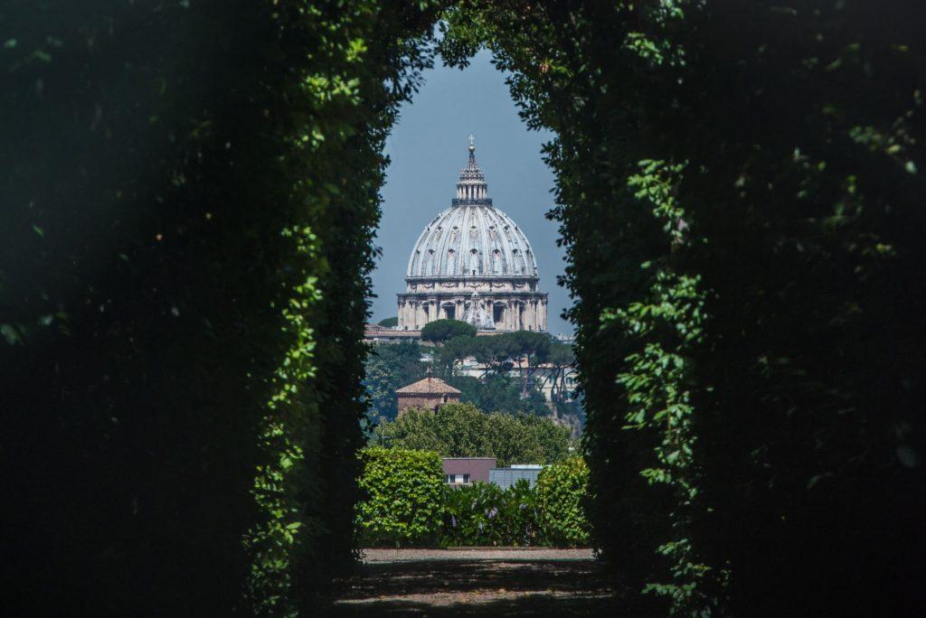 cupola san pietro vista aventino