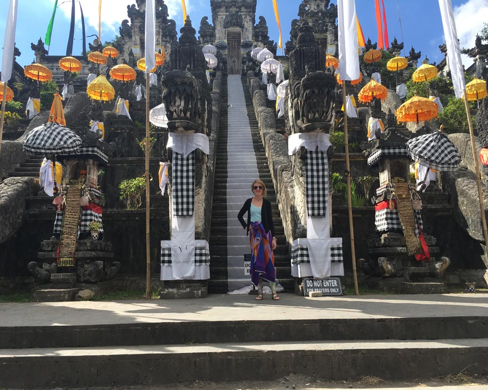 Karen Gandini di Time to Travels a Bali