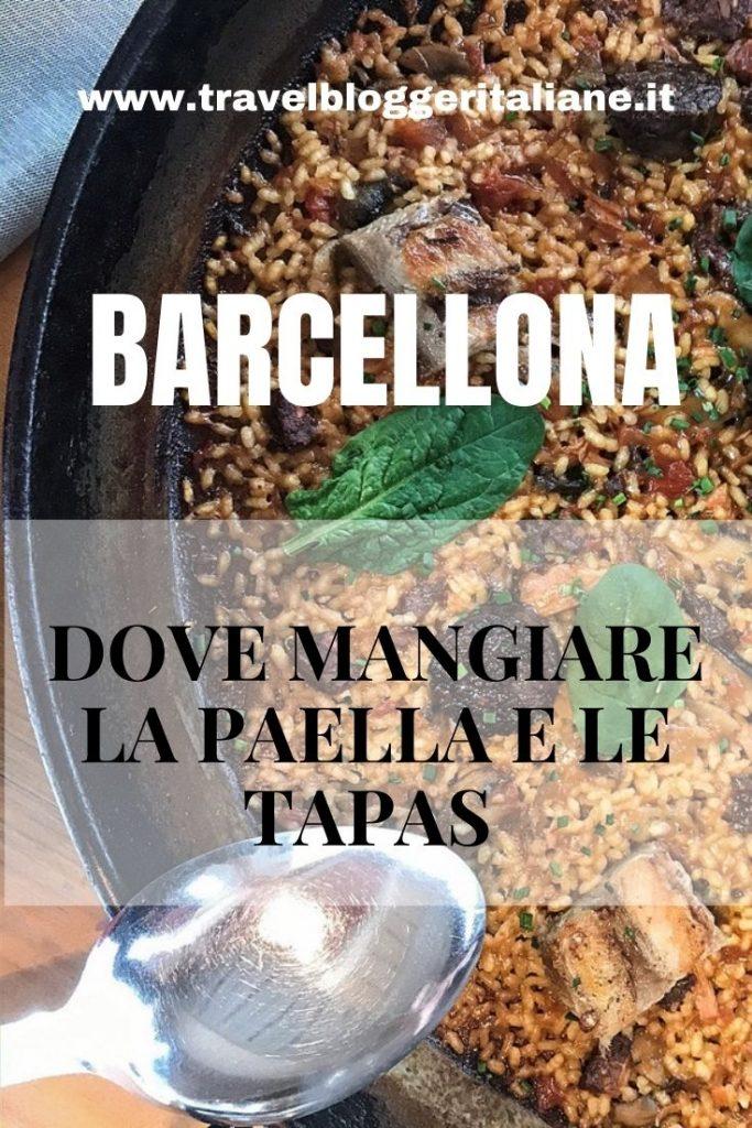 Gastronomia catalana: dove mangiare a Barcellona