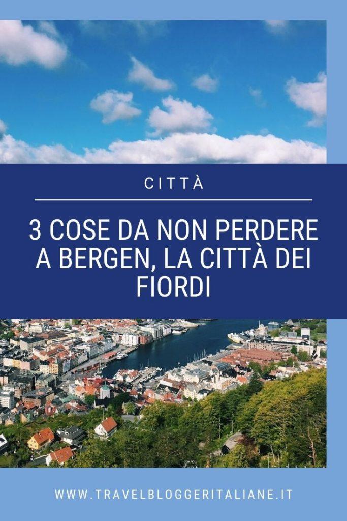 Città del mondo: 3 cose da non perdere a Bergen, la città dei fiordi