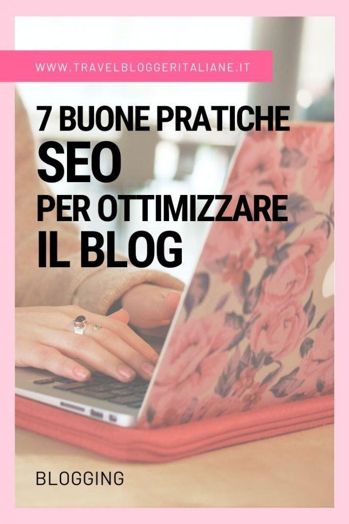 7 buone pratiche SEO per ottimizzare il blog