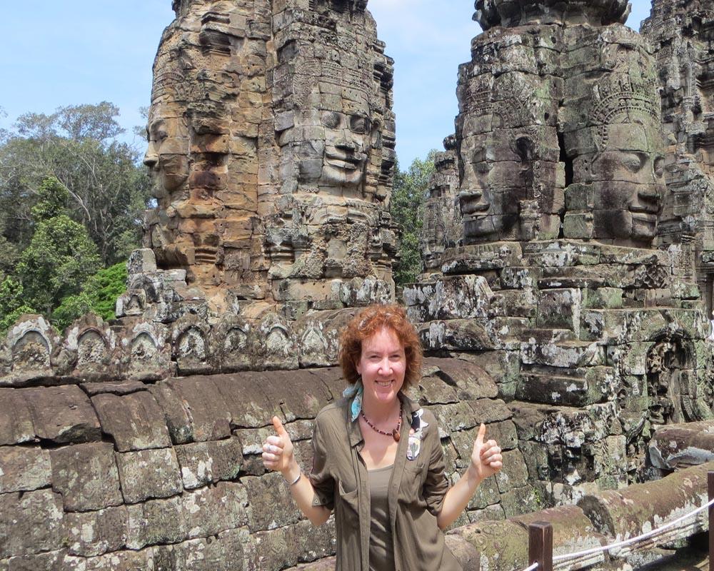 Karen Gandini di Time to Travels in Cambogia