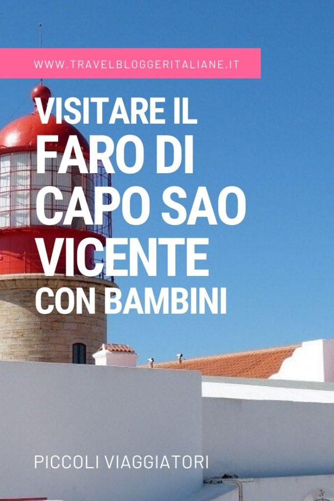 Visitare il Faro di Capo Sao Vicente in Portogallo con bambini
