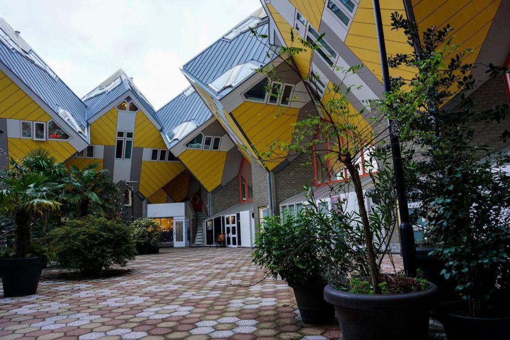 Le case cubo di Rotterdam