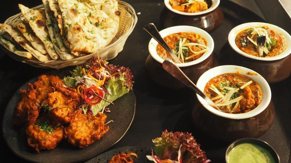 Cena indiana curry