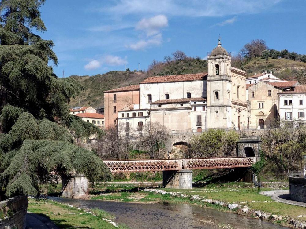 scorcio del centro storico di Cosenza