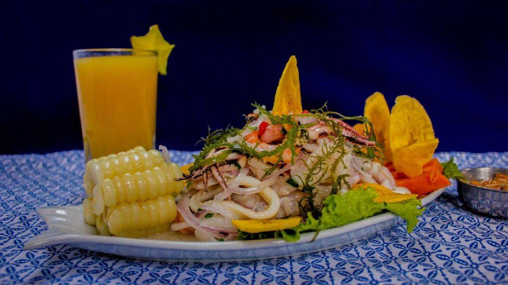 ceviche cucina peruviana