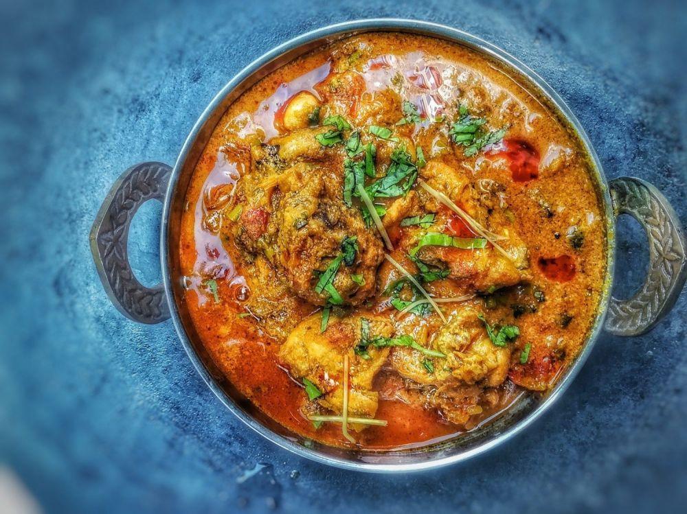 Chicken curry, pollo indiano cucinato all'inglese