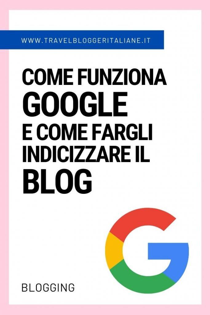 Come funziona Google e come fargli indicizzare il blog