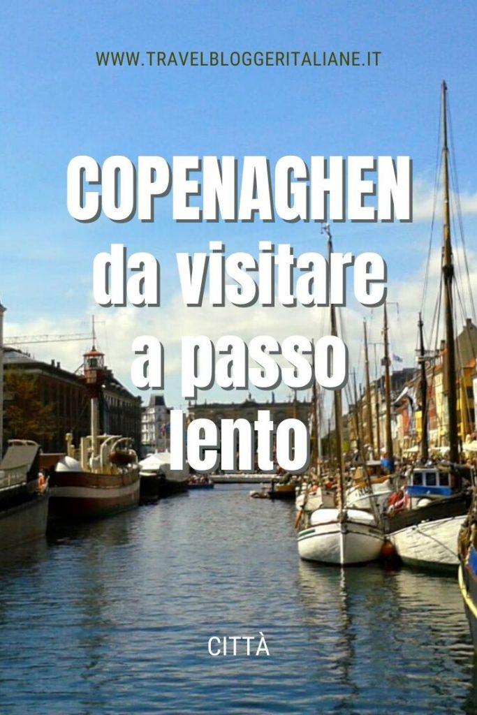 Città: Copenaghen da visitare a passo lento