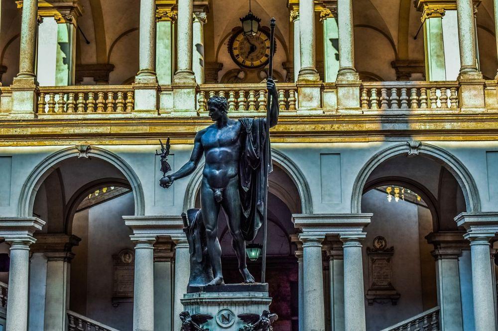 Cortile Pinacoteca di Brera - Milano