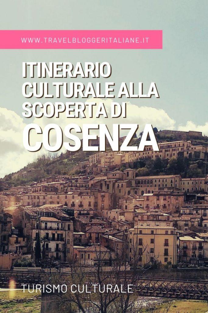 Itinerario culturale alla scoperta di Cosenza