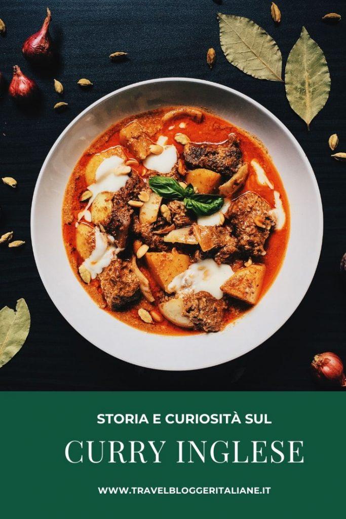 Enogastronomia: storia e curiosità sul curry inglese