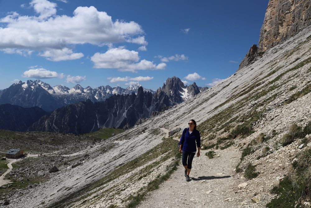 Daniela Carazzai di The DAZ Box sulle Dolomiti