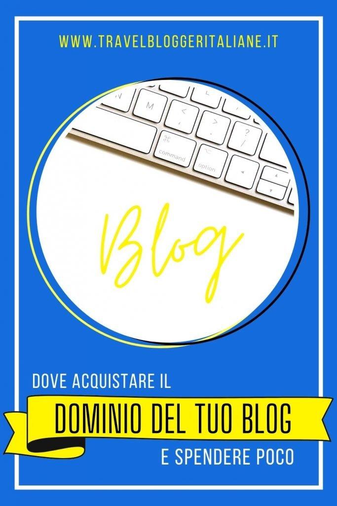 Dove acquistare il nome di dominio per il tuo blog e spendere poco