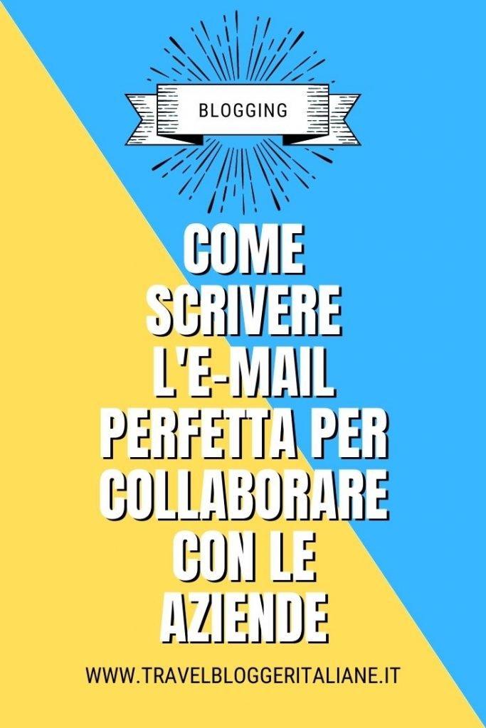 Come scrivere l'e-mail perfetta per collaborare con le aziende