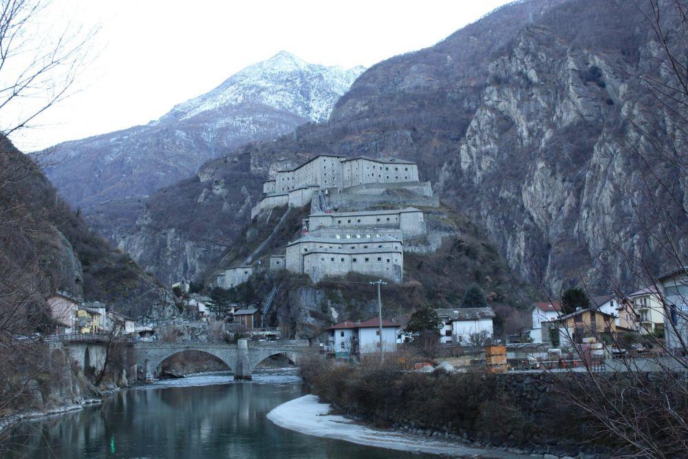 Il Forte di Bard in Valle d'Aosta