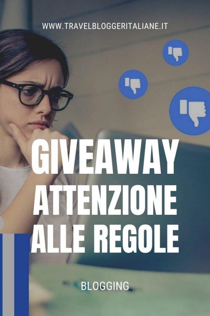 I giveaway sono quasi sempre illegali in Italia e i blogger dovrebbero prestare molta attenzione alle regole per non incorrere in multe salate