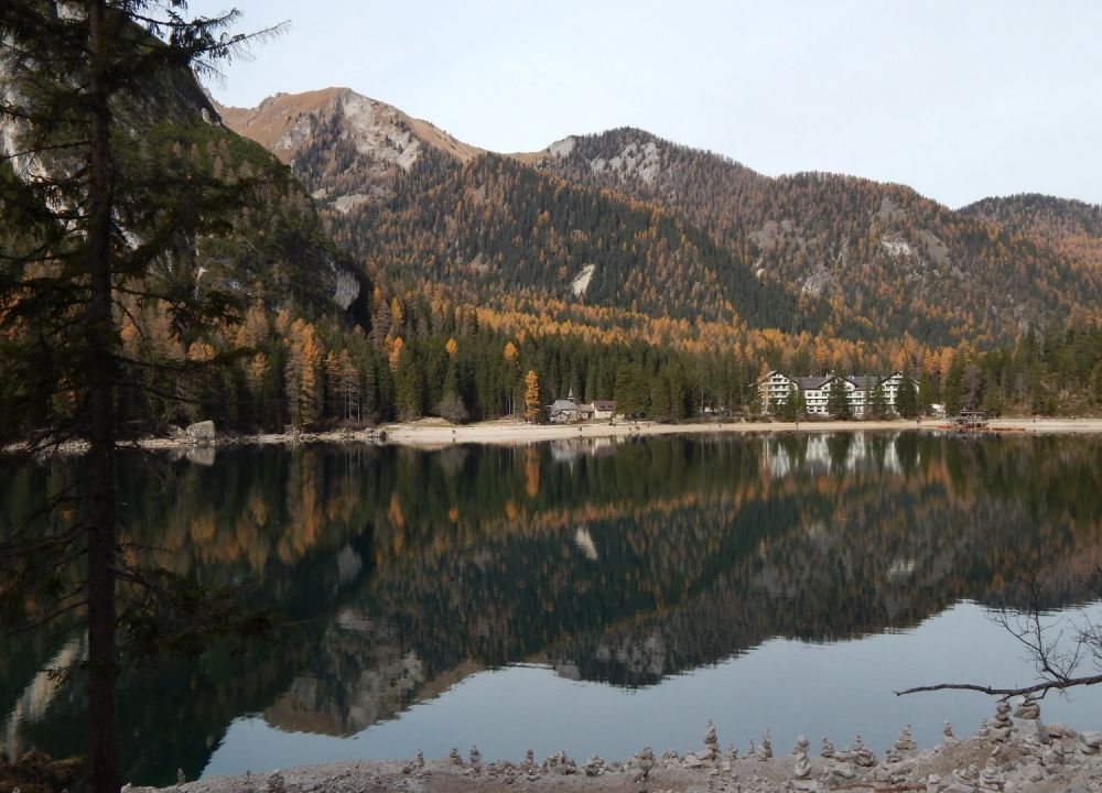 Lago di Braies in Alto Adige