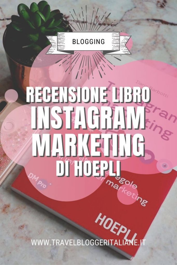 Recensione libro Instagram marketing di Hoepli