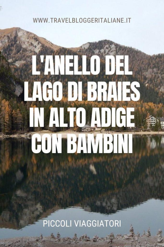 Piccoli viaggiatori: l'anello del lago di Braies in Alto Adige con bambini