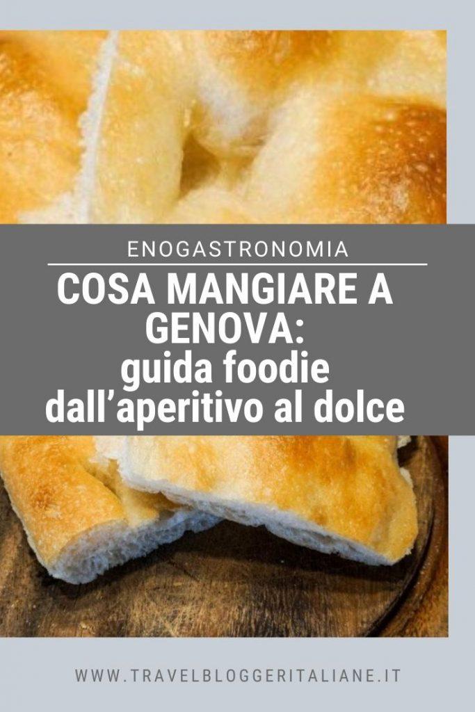 Cosa mangiare a Genova: guida foodie dall'aperitivo al dolce