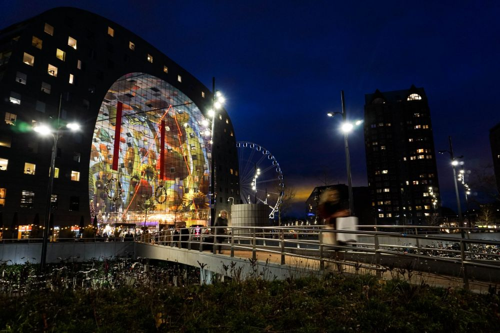 Il Markthal e la cornucopia di Rotterdam