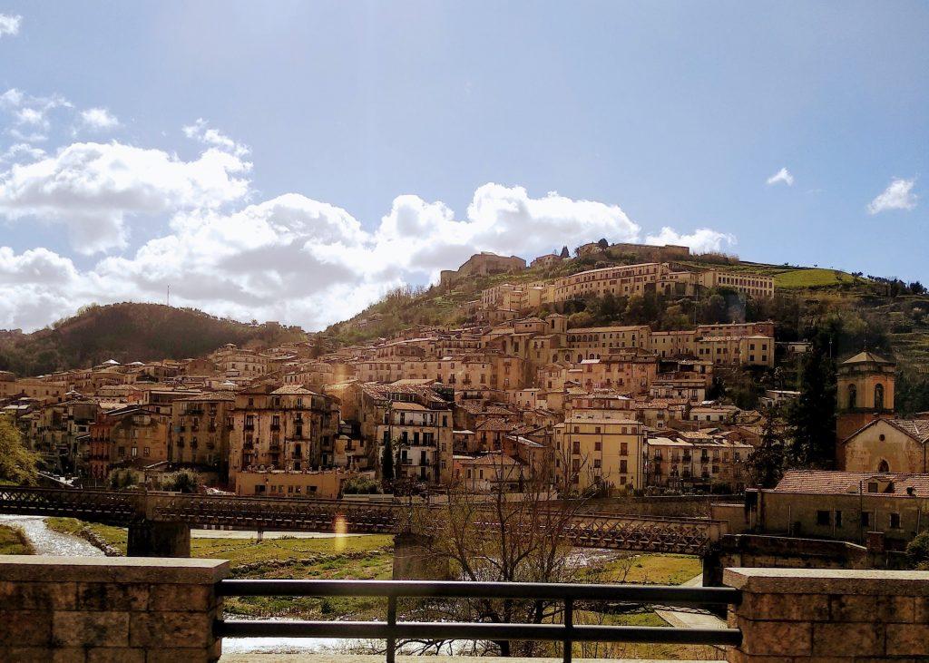 Panorama del centro storico di Cosenza
