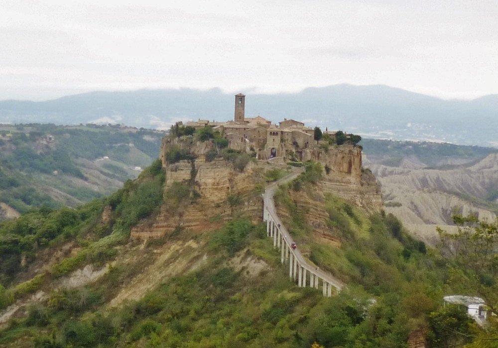 Panorama Civita di Bagnoregio