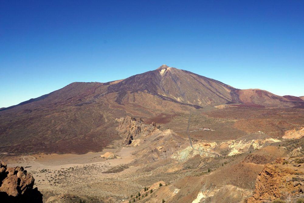 Il monte Teide a Tenerife