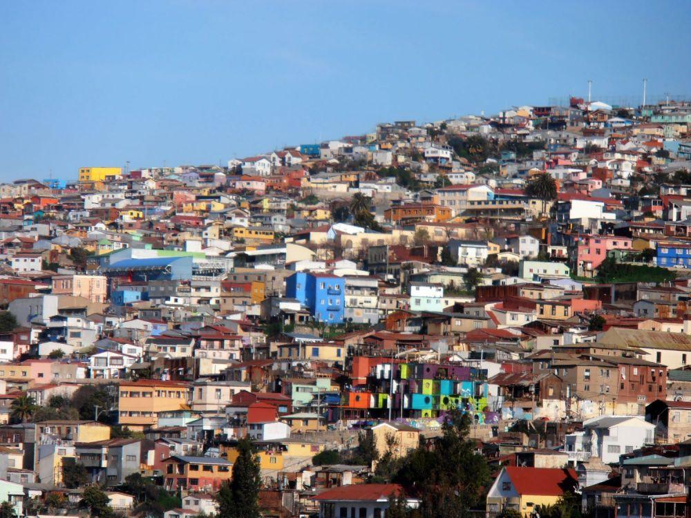 Panorama di Valparaiso